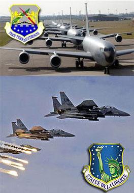 photo of USAF badges