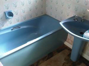 Photo of a clean bathroom