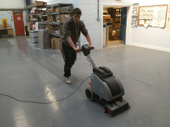Warehouse Floor Cleaning Huntingdon Dream Clean Services