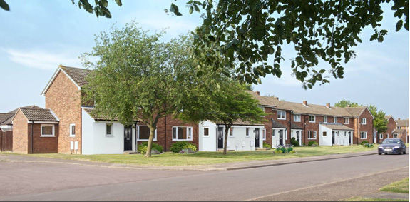 photo of new homes at waterbeach