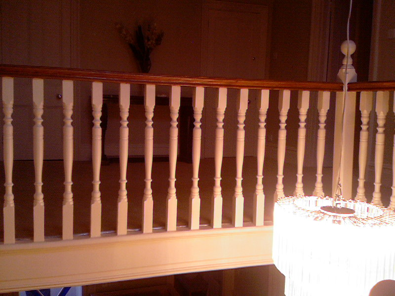 photo of bannisters